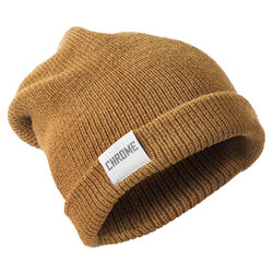 Wool Cuff Beanie in Coyote - hi-res view.
