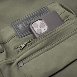 Women's Anza Short in Dusty Olive - hi-res view.