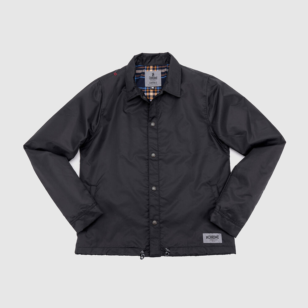 Dearborn Coaches Jacket in Black - large view.