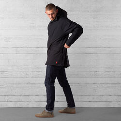Storm Insulated Parka in Black - wide-hi-res view.