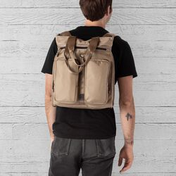 MXD Pace Tote Pack in Dune - hi-res view.