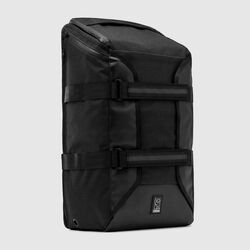 Brigade Backpack in All Black - small view.