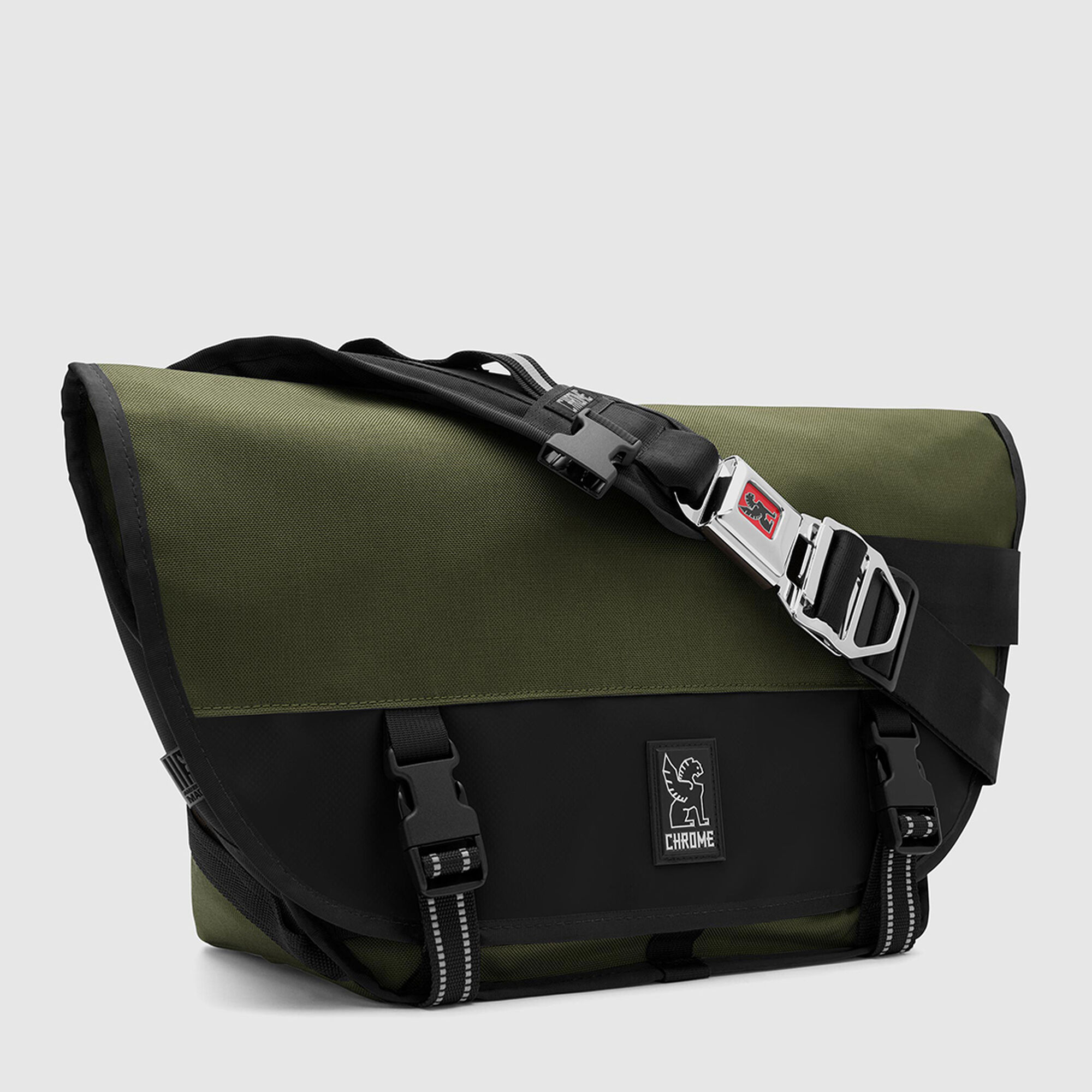 Mini Metro Messenger Bag In Ranger Black Small View