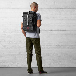 Barrage Cargo Backpack in Black - wide-hi-res view.