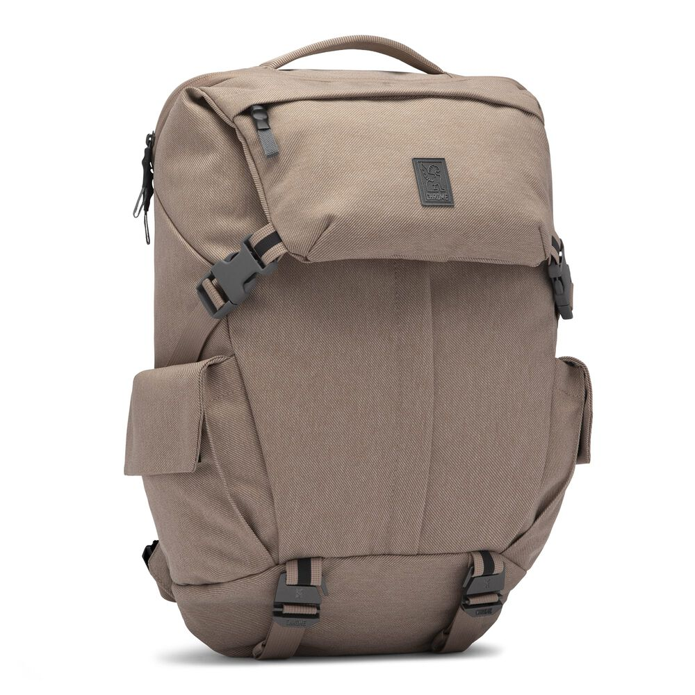 Pike Backpack in Dune - hi-res view.
