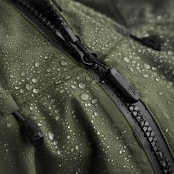 Women's Storm Salute Commute Jacket in Dusty Olive - hi-res view.