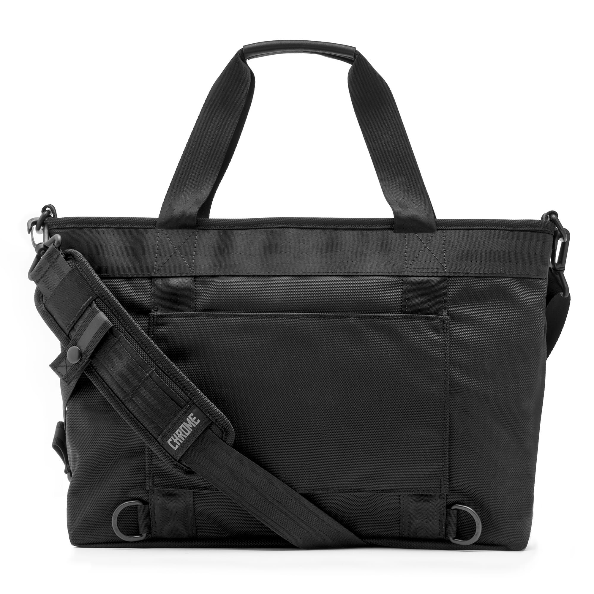 Juno Travel Tote Bag In All Black Small View