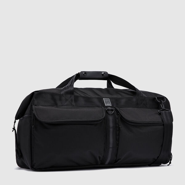 Osiris Duffle Bag in All Black - medium view.