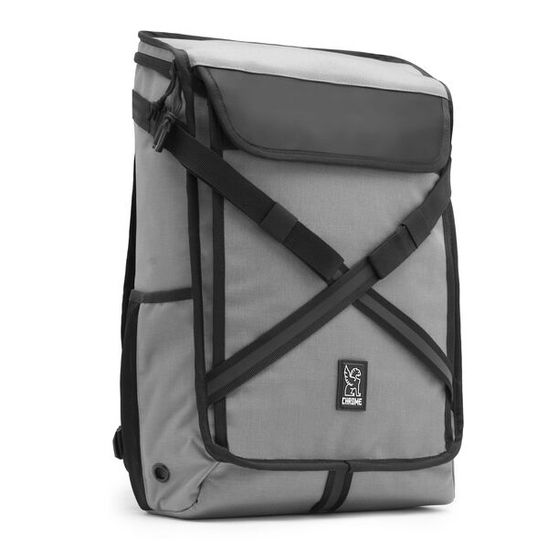 Echo Bravo Backpack in Gargoyle Grey - medium view.