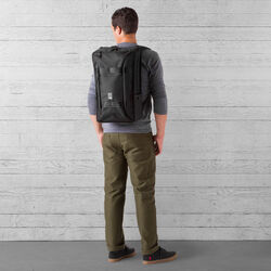 Hightower Transit Backpack in All Black - wide-hi-res view.