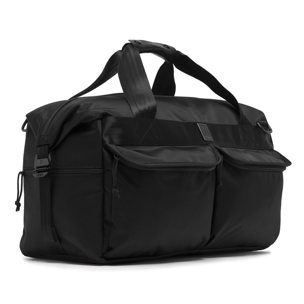 Surveyor Duffle Bag in All Black - hi-res view.