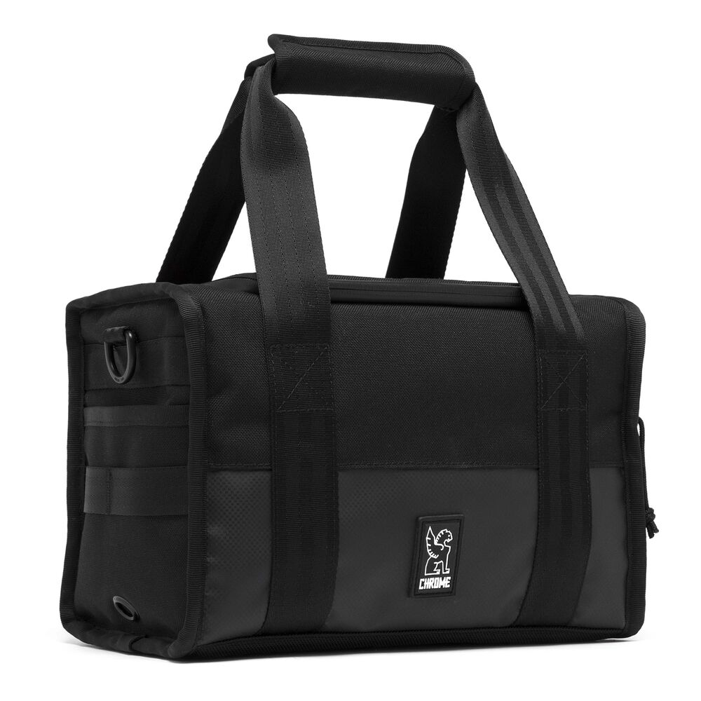 Niko Hold Camera Bag in All Black - hi-res view.