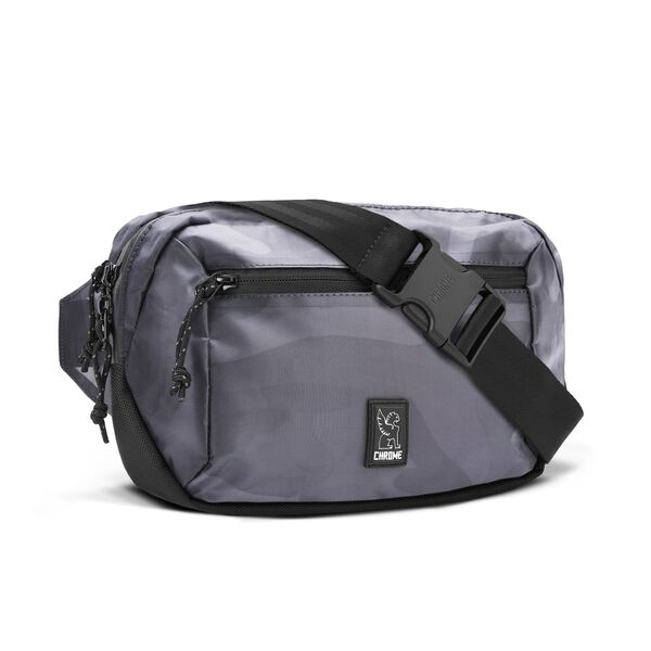 Ziptop Waistpack in Clear Camo - hi-res view.