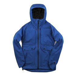 Women's Storm Seeker Shell in True Blue - small view.