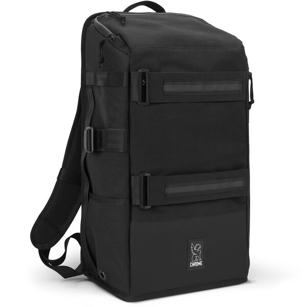 Niko Camera Backpack in All Black - hi-res view.