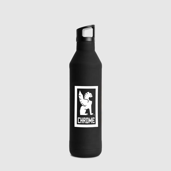 Miir Insulated Bottle in Black - medium view.