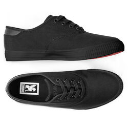 Truk Bike Shoe in All Black - hi-res view.