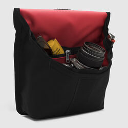 Pro Utility Pouch in Black / Red - small view.