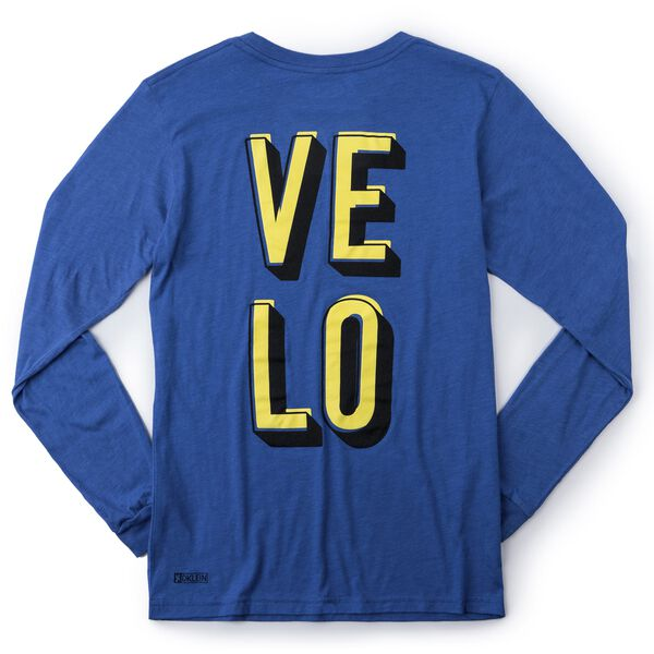 DKlein Long Sleeve Tee in Velo - medium view.