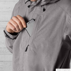 Storm Signal Jacket in Lead - hi-res view.