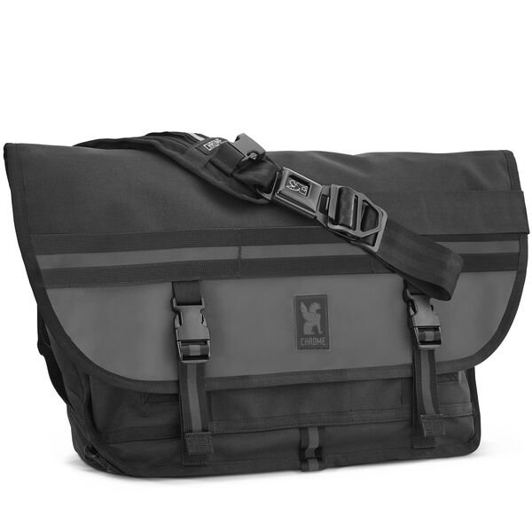 Citizen Messenger Bag in Night - hi-res view.