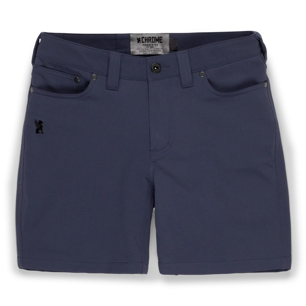 Women's Anza Short in Midnight - large view.