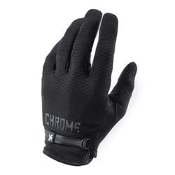 Cycling Gloves in Black - hi-res view.