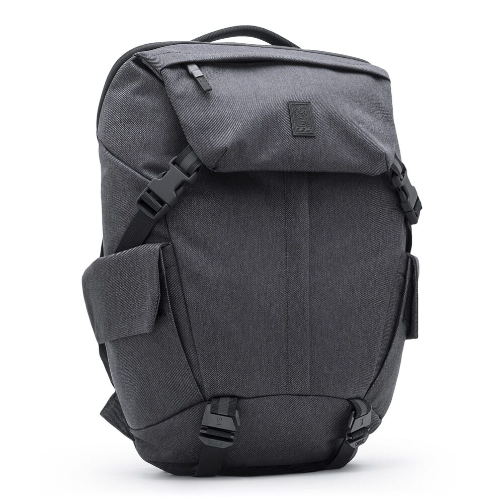 Pike Backpack in Black - large view.
