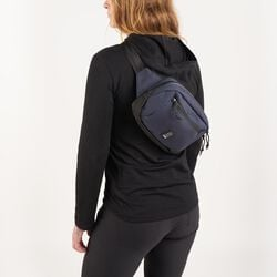 Ziptop Waistpack in Black - hi-res view.