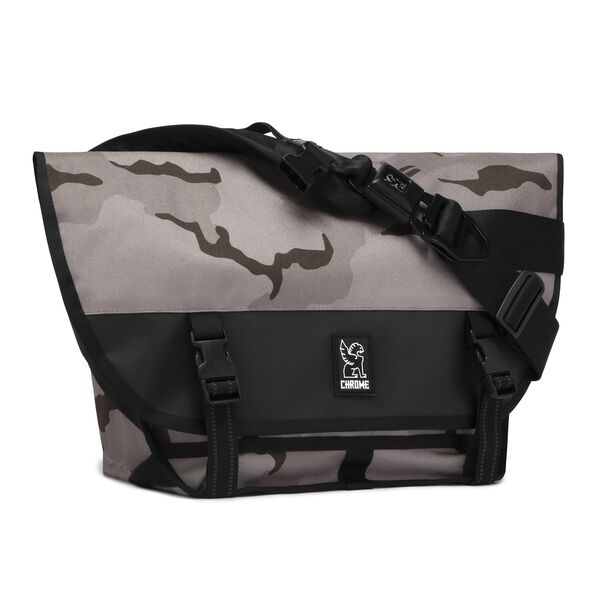 Mini Metro Messenger Bag in Desert Camo - medium view.