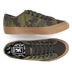 Kursk AW Sneaker in Woodland Camo - hi-res view.