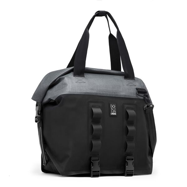 Urban Ex Rolltop 40L Tote Bag in Grey / Black - medium view.