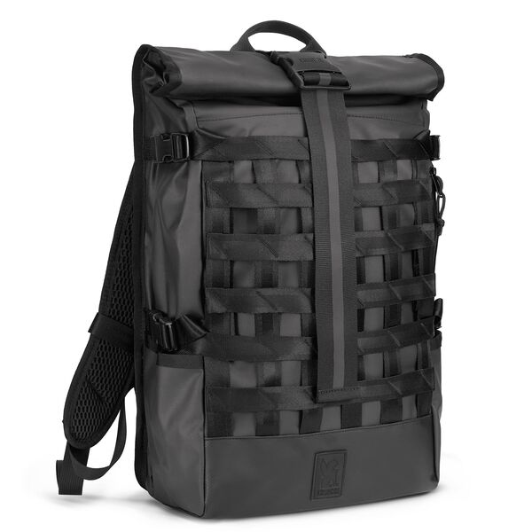 Barrage Cargo Backpack in Black Tarp - hi-res view.