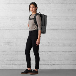 The Welterweight Hondo Backpack in Charcoal / Black - wide-hi-res view.