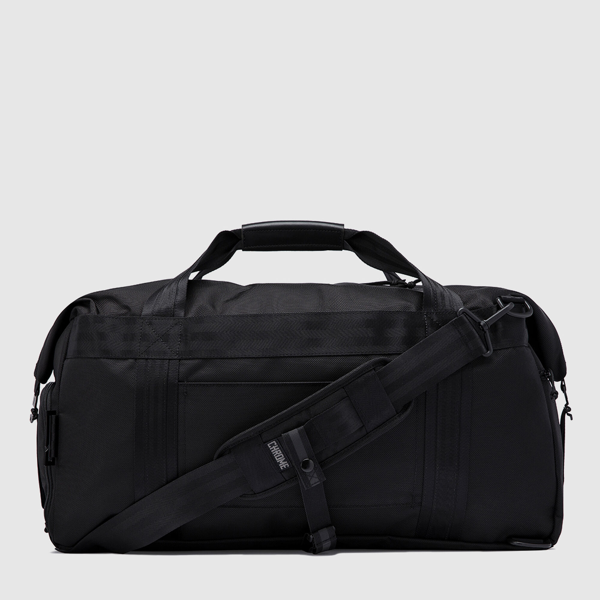 Osiris Duffle Bag In All Black Small View