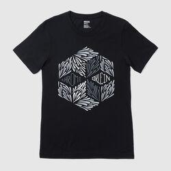 DKlein Short Sleeve Tee in Black - small view.