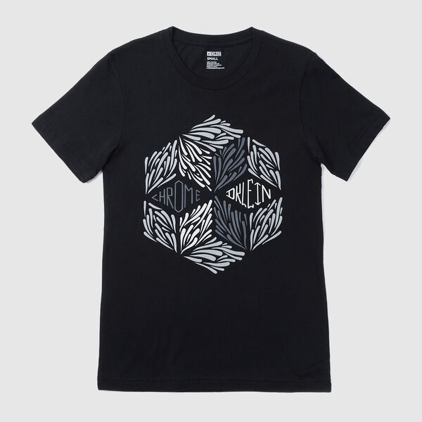 DKlein Short Sleeve Tee in Black - medium view.