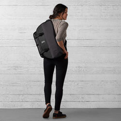 The Welterweight Citizen Messenger in Charcoal / Black - wide-hi-res view.