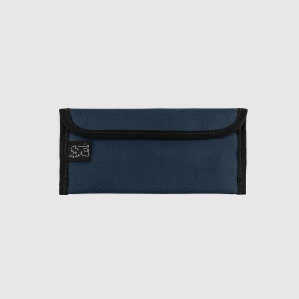 Small Utility Pouch in Indigo / Black - medium view.