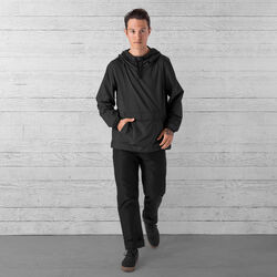 Packable Buckman Anorak in Black - small view.