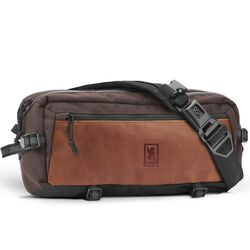 Kadet Sling Bag in Earth / Leather - hi-res view.