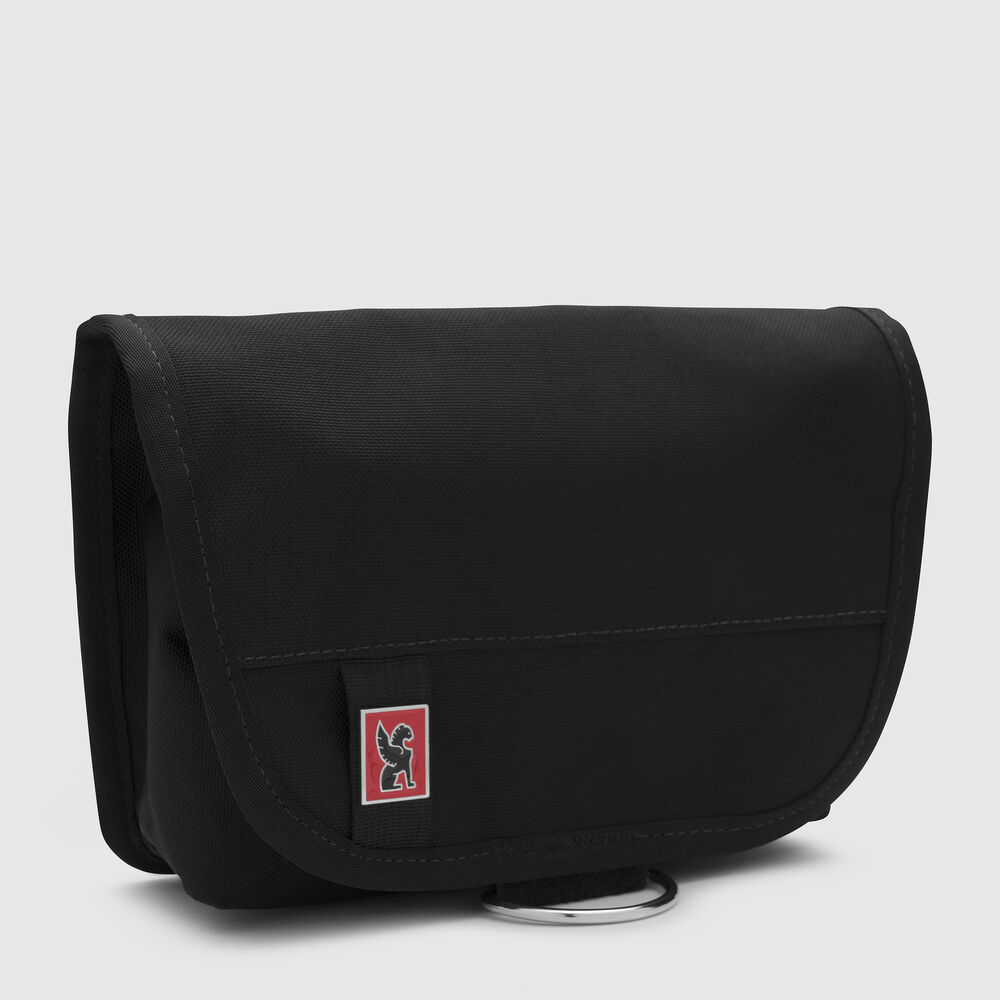 Pro Utility Pouch in Black / Red - large view.