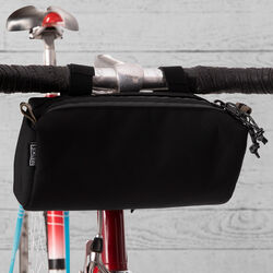 DKlein Handlebar Bag in Black - hi-res view.