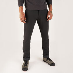 Brannan Pant in Black - hi-res view.