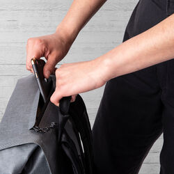 Urban Ex Rolltop 28L Backpack in Grey / Black - small view.