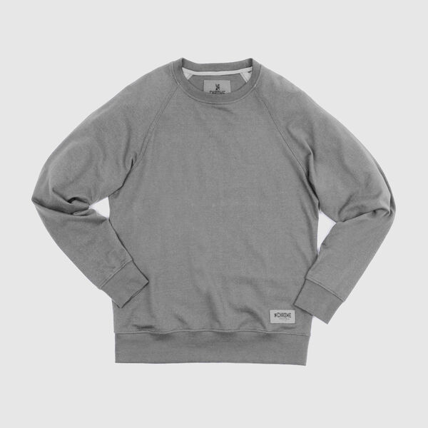 Hawthorne Crew Sweatshirt in Athletic Heather - medium view.