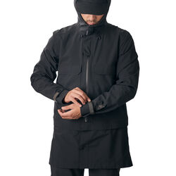 Storm Kojak Convertible Jacket in Black - hi-res view.