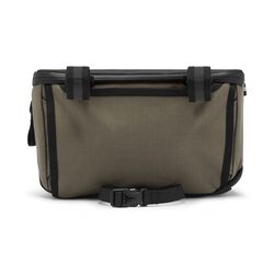 Helix Handlebar Bag in Olive - hi-res view.