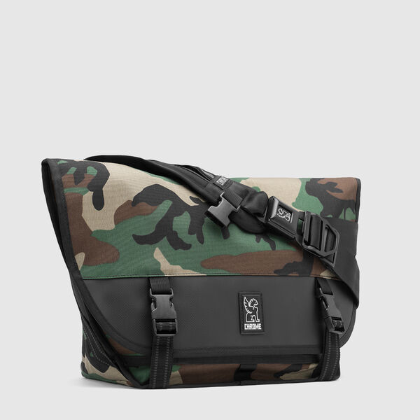 Mini Metro Messenger Bag in Camo - medium view.