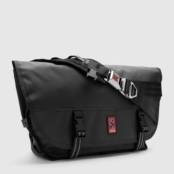 Citizen Messenger Bag in Black / Black - medium view.